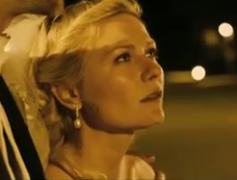 Kirsten Dunst preparing to get jiggy with it